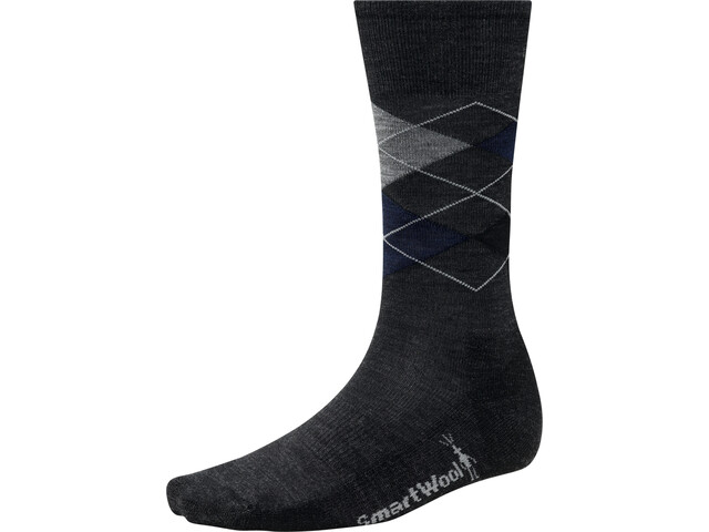 Smartwool Diamond Jim Crew Socks Men Charcoal/Deep Navy
